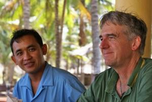 Gavin with Khun Varisorn at Chumphon Cabana