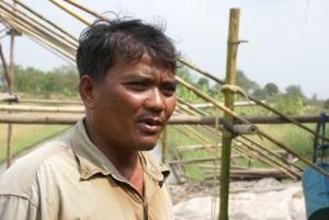 Pattapee Poungsuwan, organic vegetable grower, Naku Village
