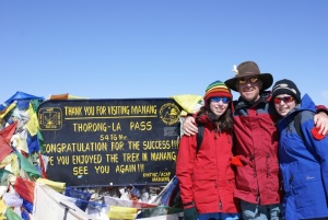 An indescribable feeling to reach Thorong La Pass at 5416m