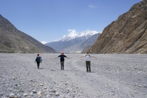 In the Kali Gandaki, it will never be this peaceful again