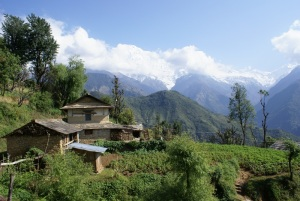Ghandruk is a large village of around 6000 people, wealthy from Gurkhas, smart people and working smartly with their environment but with local issues and challenges